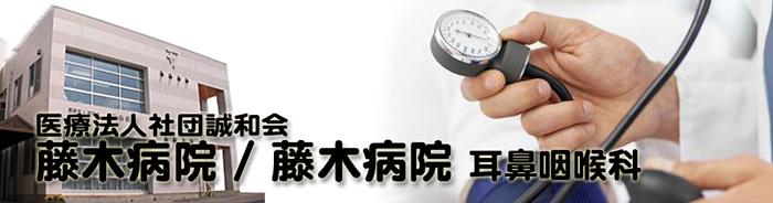 藤木病院 耳鼻咽喉科